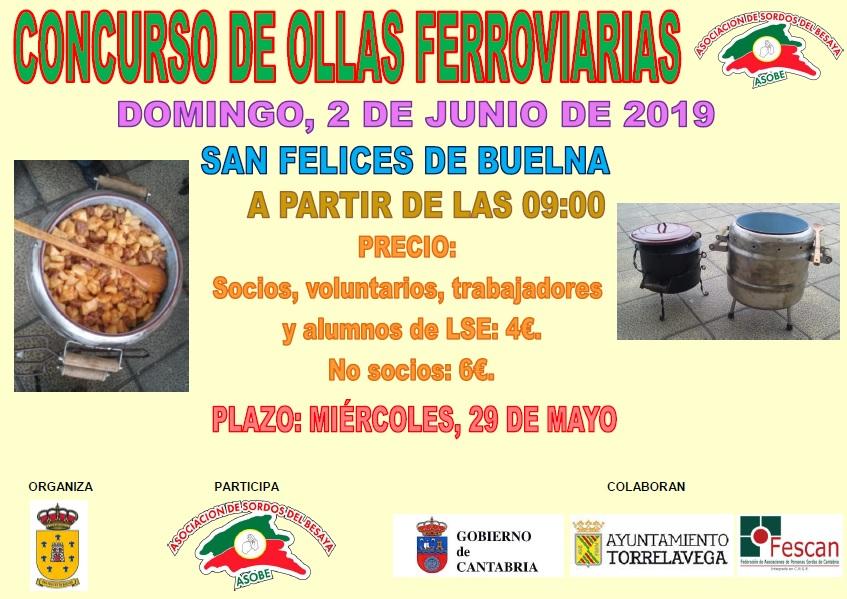 CONCURSO DE OLLAS FERROVIARIAS EN SAN FELICES DE BUELNA