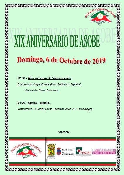 XIX ANIVERSARIO DE ASOBE