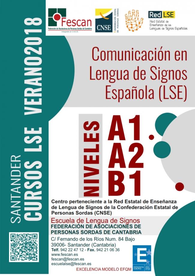 FESCAN Cartel  Cursos LSE A1A2B1 2018 001