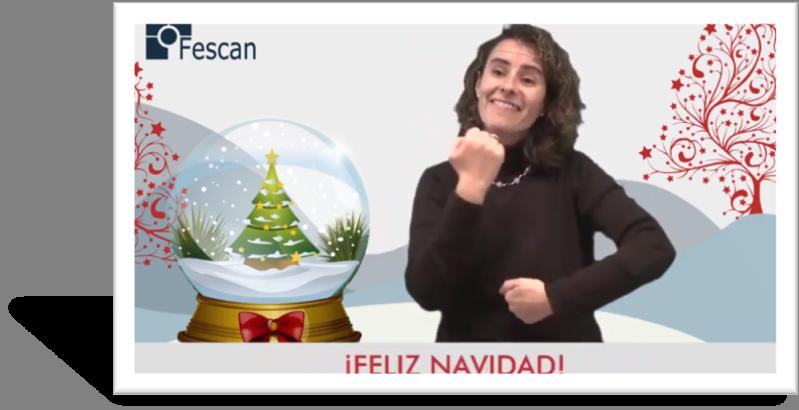MENSAJE DE NAVIDAD DE LA PRESIDENTA DE FESCAN
